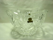 Royal Crystal Rock Oneida Nobilis Lead Crystal Serving Bowl