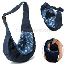 Blue Baby Carrier Sling Wrap Pouch Newborn Infant Breastfeeding Papoose 10kg