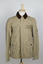 NWT. YORK ST. by J. PRESS Khaki Upland Cotton Hunting Jacket Coat Size L $395