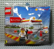 Polybag LEGO Shell V-Power 40195 Station Pista di Fiorano - 2014 Neuf New Sealed
