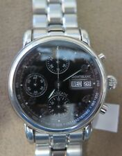 Montblanc Meisterstuck 7016 Chronograph Day Date Men's Automatic Watch 38 mm SS