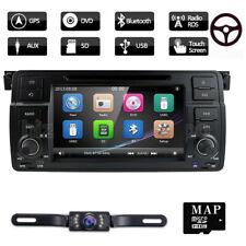 "For BMW E46 M3 7"" 2Din GPS Navigator Car Radio DVD Player Navigation Stereo USB"
