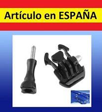 TORNILO+ ADAPTADOR pecho cabeza camara GoPro Hero 1 2 3+ arnes accesorio soporte