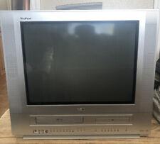 TruFlat Rca 20� Tv Dvd Vcr Combo Retro Gaming W Remote 20f502tdv