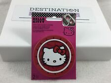 Hello Kitty Auto Car Cup Holder COASTERS Set of 2 Red NIP