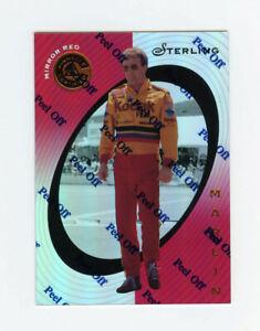 Sterling Marlin 1997 Pinnacle Certified Mirror Red Parallel Insert Card 1:99 #4