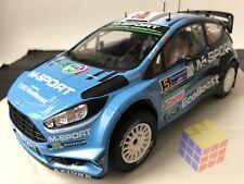 Coche Rally Ford Fiesta RS WRC - Año 2016 - M. Ostberg (1/18)  IXO - Altaya