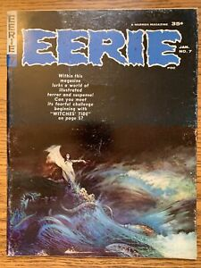 Eerie # 7 - Frazetta cover & Ditko art FN Warren Publishing