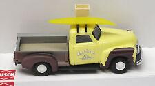 "Busch  1/87 HO 1950 Chevy Pickup Truck ""Butcher's"" Surf Board Truck 48234"