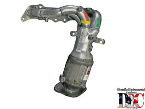 Exhaust Manifold And Converter Assy   DEC Catalytic Converters   TOY73250