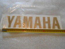 1 STICKERS AUTOCOLLANT YAMAHA OR/DORE    5WX-F153A-20 OR/DORE