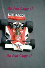 James Hunt McLaren M23 Monaco Grand Prix 1976 Photograph 5