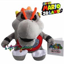 Super Mario Baby Dry Bowser Bones Koopa Plush Toy 7'' Stuffed Animal Doll Gift