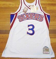 MITCHELL & NESS HWC NBA PHILADELPHIA 76ERS ALLEN IVERSON AUTHENTIC JERSEY L 44