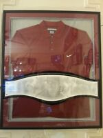 Tiger Woods 2001 Masters Augusta Champion Upper Deck wall display