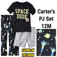 NWT CARTERS Infant Boys Girls Footed Pajamas 6M 12M 18M 24M Rainbow Hearts Sloth