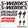 X10 PEGATINAS KIT S-WORKS SPECIALIZED RECORTE STICKERS DECAL MOUNTAIN BIKE BICI