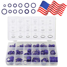 270pcs Rubber Assortment Air Condition O Ring Washer Seals Kit Purple US Stock