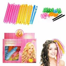 Magic Curlers Short Long Hair Spiral for Curl Formers Leverage Rollers with Hook