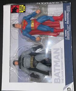 *****BATMAN :THE DARK KNIGHT RETURNS Batman & Superman Action Figure****