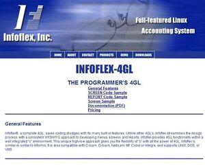 Infoflex-4GL Linux development license (Informix Compatable & unlimited users)