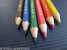 10 x Packs LYRA Mini Lápices De Madera Colores Cortos 6 Niños Lacados OSIRIS