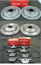 BMW Z4 3.0 E85 2006 on FRONT REAR BRAKE DISC BREMBO DRILLED GROOVED BRAKE PAD