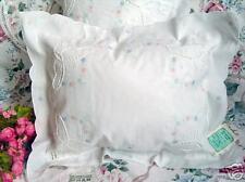 NEWButterfly Cutwork Boudoir Pillow/Cushion~With Insert