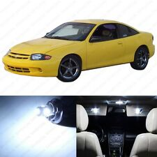 9 x Xenon White LED Interior Light Package For 1995 - 2005 Chevy Cavalier + TOOL