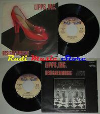 LP 45 7'' LIPPS INC Designer music Jazzy 1980 italy CASABLANCA 6180067 cd mc*dvd