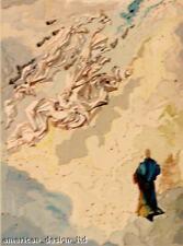 Salvador Dali The Divine Comedy PARADISE Canto 20 Framed Wood Block Art Print