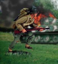 "Valiant Miniatures Kit# 9651 - US GI, advancing, Normandy ""breakout"", 1944"