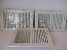 "Lima Register Cover 10V-10X6W - White - 11 1/2"" X 7 1/2"" Light Scratches & Dent"