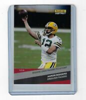 AARON RODGERS 2020 PANINI INSTANT CARD 50 SHORT PRINT 1 OF 91 GREEN BAY