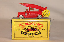 MATCHBOX ORIGINALS RECREATIONS #9 DENNIS FIRE ENGINE, BOXED