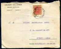 SPAIN TO ARGENTINA Cover 1926, w/Advertising