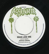 """Johnny Clarke – Man Like Me UK 7"""" MINT ROOTS Aggrovator - Dub Like Me"""