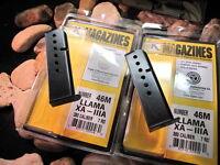 2-Pack Fits LLAMA IIIA 3A XA MAGAZINE .380 Mag USA MADE 380 ac 7 Shot Blued LAMA