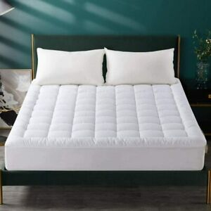 100% WATERPROOF EXTRA DEEP QUILTED MATTRESS PROTECTOR FITTED COVER IN ALL SIZES