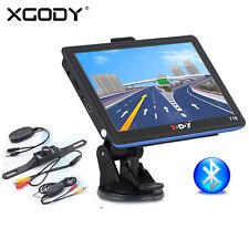Xgody 7 Inch Auto Car Gps Navigation Sat Nav Unit + Free Wireless Backup Camera