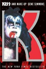 Kiss and Make-Up by Gene Simmons-illustrated trade sized paperback