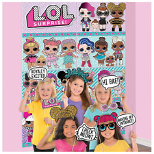 LOL Surprise Birthday Party Scene Setter with Photo Booth Props