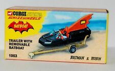 Corgi Juniors Batboat empty box