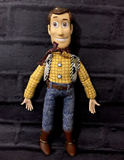 """Rare Woody Toy Story Talking Push Button 11"""""""