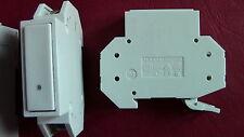 LOT de 2 Bouton Poussoir  20A BP  modulaire  MERLIN-GERIN ; Push Bouton