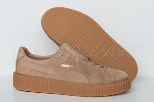 NEW PUMA FENTY BY RIHANNA CREEPERS  SUEDE OATMEAL MEN'S SHOES ALL SIZES