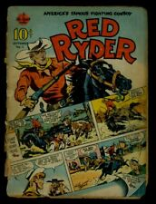 Hawley Hi-Spot Comic RED RYDER #1 1940 Fair Minus .8