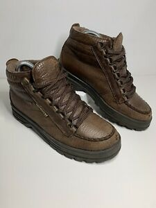 Mephisto Trampolins Brown Lace Up Leather Ankle Boots GORE TEX