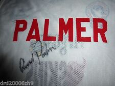 Rare Arnold Palmer Signed Autographed Tournament Used Caddie Bib Vest