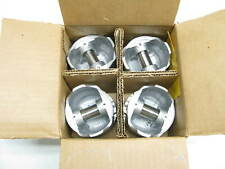 (x4) Engine Piston Set 4-L3162F-1MM O/S For 85-86 Ford 1.9L